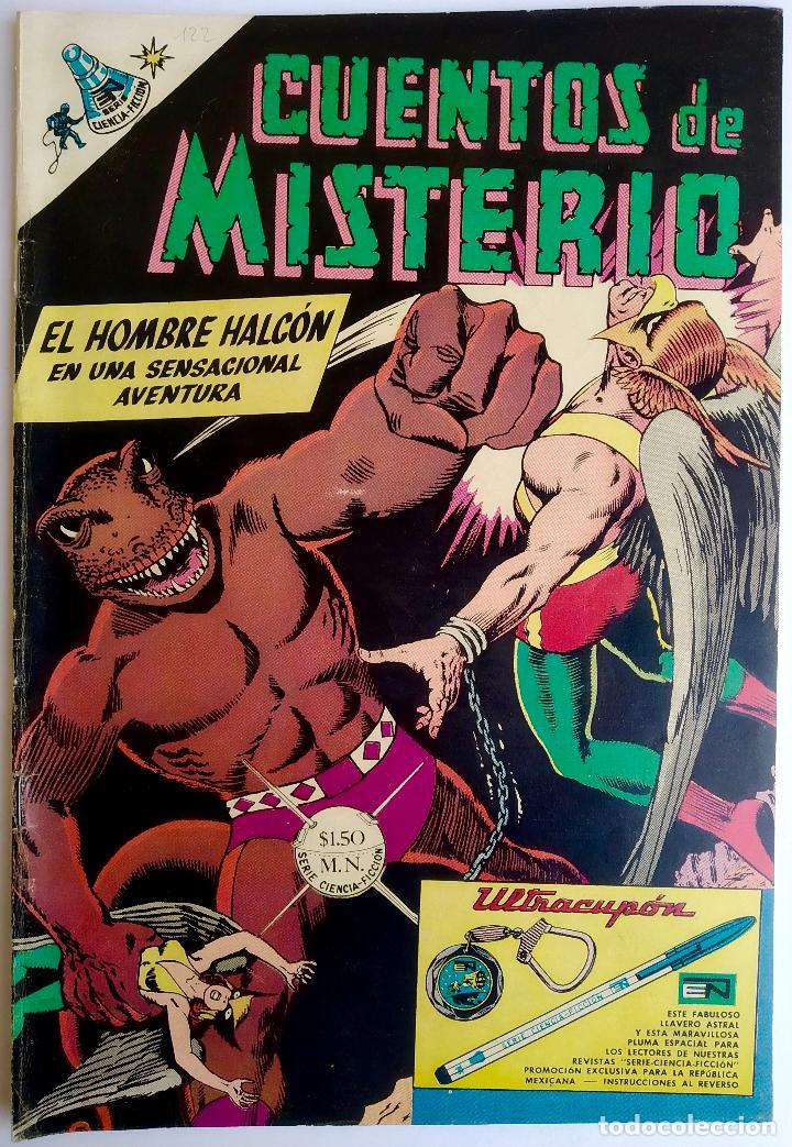 CUENTOS DE MISTERIO 122 (1967) - ED. NOVARO - MÉXICO - MUY BUEN ESTADO (Tebeos y Comics - Novaro - Sci-Fi)
