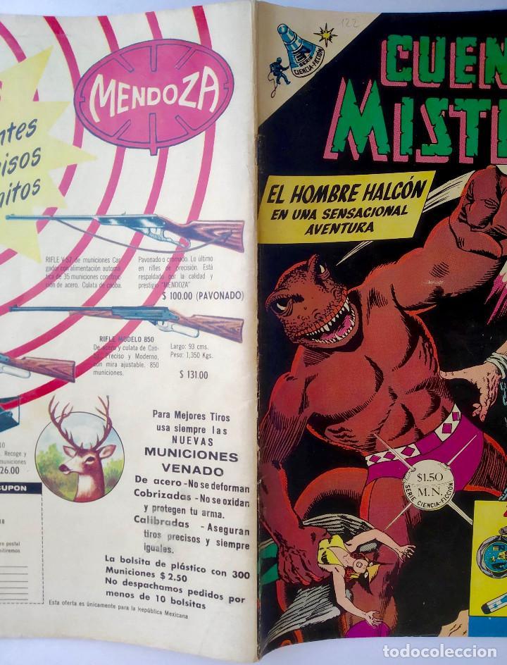 Tebeos: Cuentos de Misterio 122 (1967) - Ed. Novaro - México - Muy buen estado - Foto 2 - 286803213