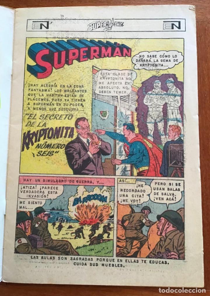 Tebeos: SUPERCOMIC - nº 43. SUPERMAN. NOVARO - 1971 - Foto 2 - 286966123