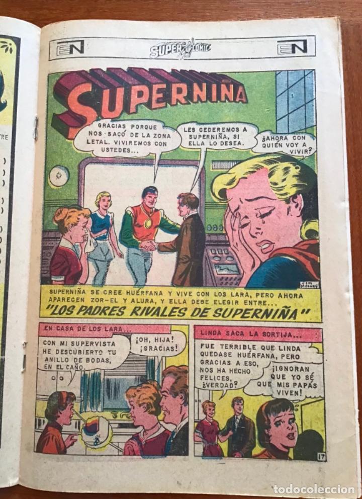 Tebeos: SUPERCOMIC - nº 43. SUPERMAN. NOVARO - 1971 - Foto 4 - 286966123