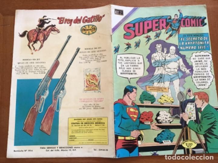 Tebeos: SUPERCOMIC - nº 43. SUPERMAN. NOVARO - 1971 - Foto 6 - 286966123