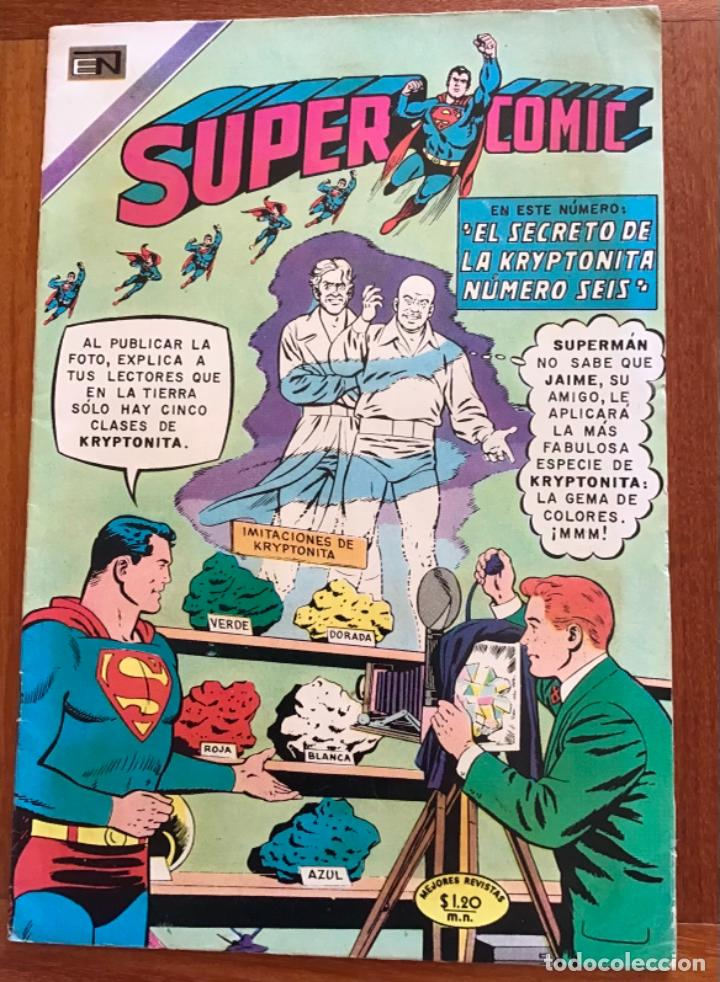 SUPERCOMIC - Nº 43. SUPERMAN. NOVARO - 1971 (Tebeos y Comics - Novaro - Superman)