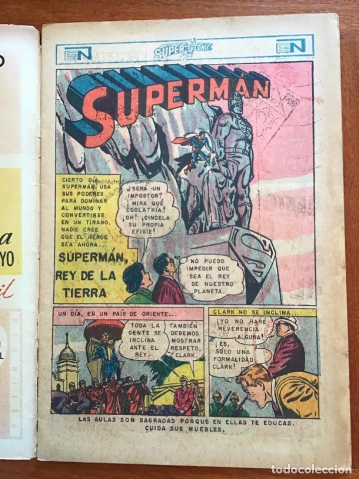 Tebeos: SUPERCOMIC - nº 44. SUPERMAN. NOVARO - 1971 - Foto 2 - 286966393