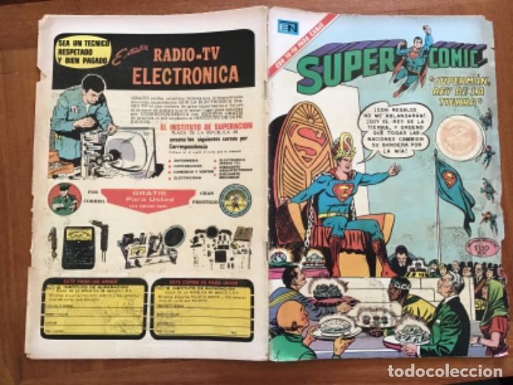 Tebeos: SUPERCOMIC - nº 44. SUPERMAN. NOVARO - 1971 - Foto 6 - 286966393