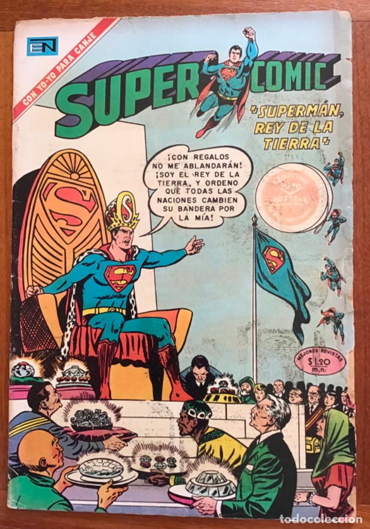 SUPERCOMIC - Nº 44. SUPERMAN. NOVARO - 1971 (Tebeos y Comics - Novaro - Superman)