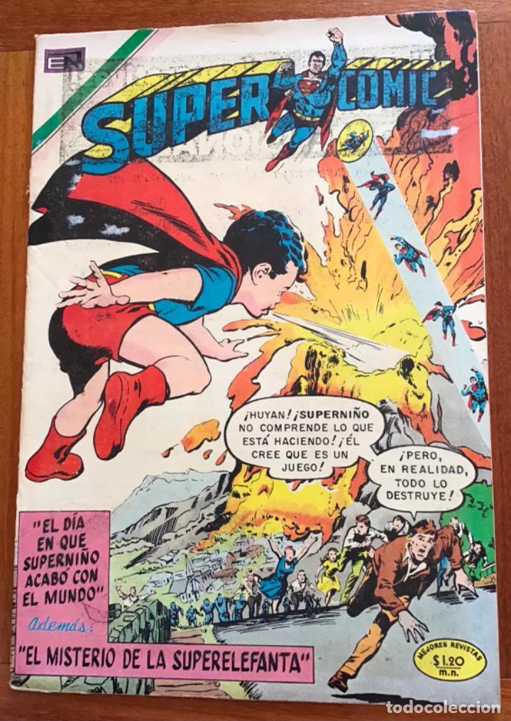 SUPERCOMIC - Nº 50. SUPERMAN. NOVARO - 1971 (Tebeos y Comics - Novaro - Superman)