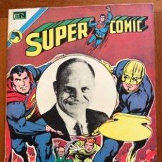Livros de Banda Desenhada: SUPERCOMIC - Nº 68. SUPERMAN. NOVARO - 1973.. Lote 286969798