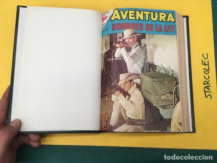 Tebeos: AVENTURA NOVARO. 1 TOMO DE 12 NUMEROS (VER DESCRIPCION) EDITORIAL NOVARO AÑO 1959-1973 - Foto 2 - 287067593