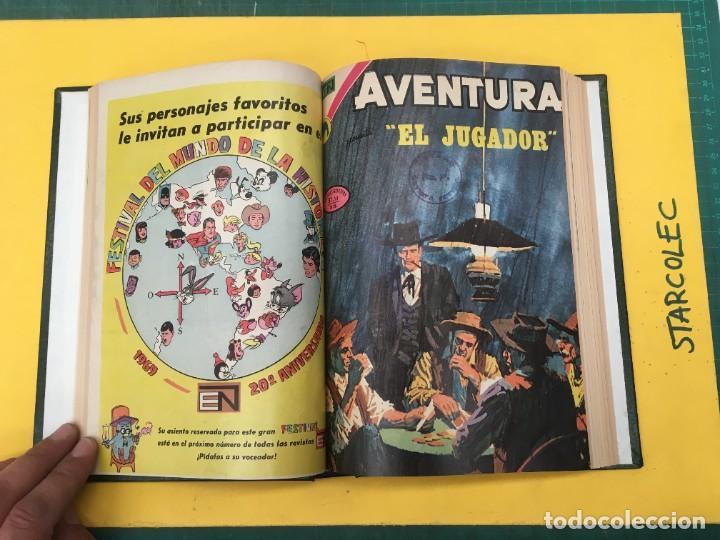 Tebeos: AVENTURA NOVARO. 1 TOMO DE 12 NUMEROS (VER DESCRIPCION) EDITORIAL NOVARO AÑO 1959-1973 - Foto 5 - 287067593