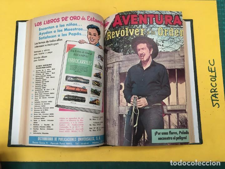 Tebeos: AVENTURA NOVARO. 1 TOMO DE 12 NUMEROS (VER DESCRIPCION) EDITORIAL NOVARO AÑO 1959-1973 - Foto 7 - 287067593