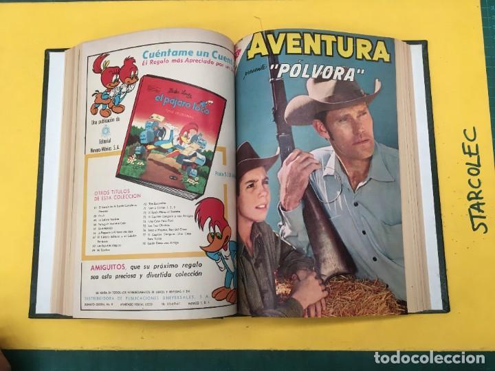 Tebeos: AVENTURA NOVARO. 1 TOMO DE 12 NUMEROS (VER DESCRIPCION) EDITORIAL NOVARO AÑO 1959-1973 - Foto 8 - 287067593