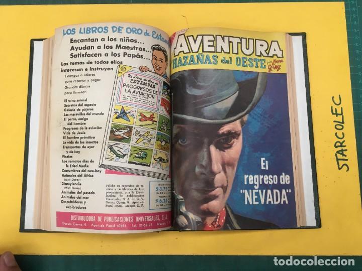 Tebeos: AVENTURA NOVARO. 1 TOMO DE 12 NUMEROS (VER DESCRIPCION) EDITORIAL NOVARO AÑO 1959-1973 - Foto 10 - 287067593