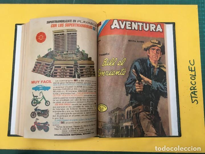 Tebeos: AVENTURA NOVARO. 1 TOMO DE 12 NUMEROS (VER DESCRIPCION) EDITORIAL NOVARO AÑO 1959-1973 - Foto 12 - 287067593