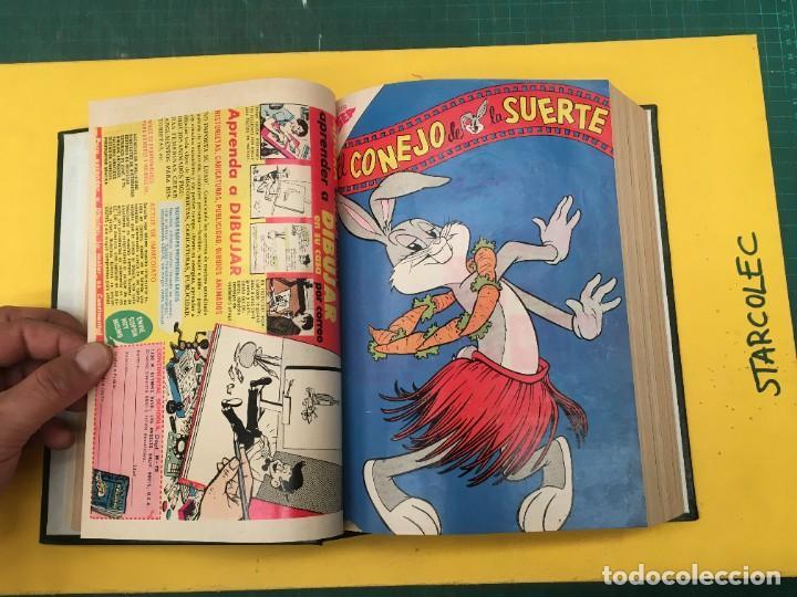 Tebeos: EL CONEJO DE LA SUERTE NOVARO. 1 TOMO DE 24 NUMEROS (VER DESCRIPCION) EDITORIAL NOVARO AÑO 1957-1963 - Foto 8 - 287072023