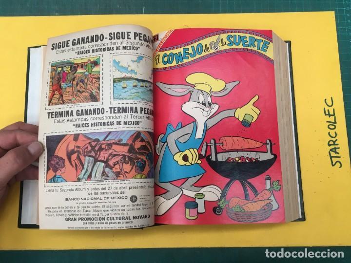 Tebeos: EL CONEJO DE LA SUERTE NOVARO. 1 TOMO DE 24 NUMEROS (VER DESCRIPCION) EDITORIAL NOVARO AÑO 1957-1963 - Foto 9 - 287072023