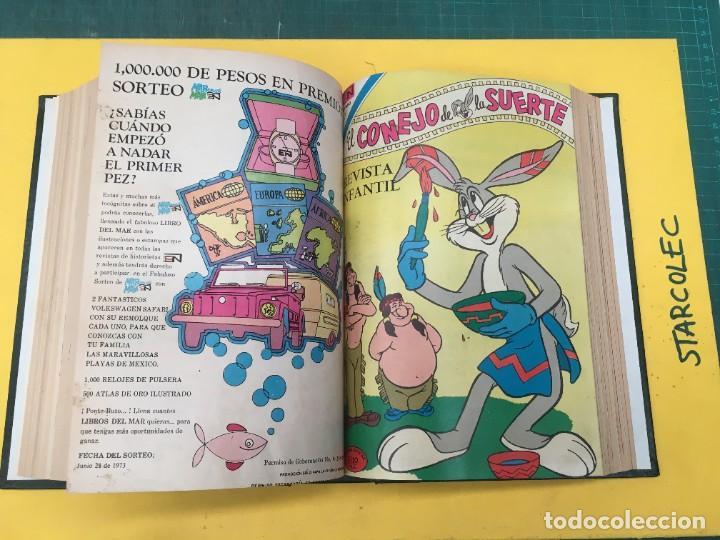 Tebeos: EL CONEJO DE LA SUERTE NOVARO. 1 TOMO DE 24 NUMEROS (VER DESCRIPCION) EDITORIAL NOVARO AÑO 1957-1963 - Foto 19 - 287072023