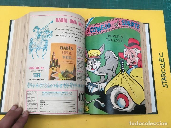 Tebeos: EL CONEJO DE LA SUERTE NOVARO. 1 TOMO DE 24 NUMEROS (VER DESCRIPCION) EDITORIAL NOVARO AÑO 1957-1963 - Foto 21 - 287072023