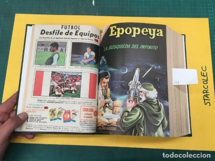 Tebeos: EPOPEYA NOVARO. 1 TOMO DE 27 NUMEROS (VER DESCRIPCION) EDITORIAL NOVARO AÑO 1960-1973 - Foto 4 - 287247558