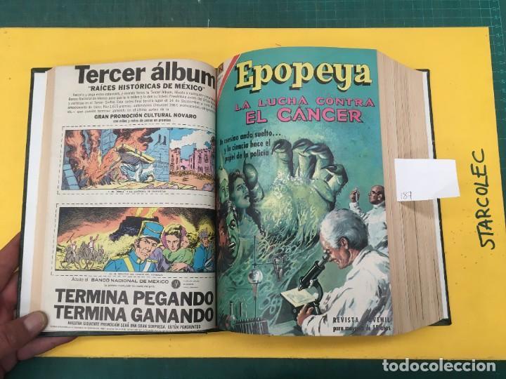 Tebeos: EPOPEYA NOVARO. 1 TOMO DE 27 NUMEROS (VER DESCRIPCION) EDITORIAL NOVARO AÑO 1960-1973 - Foto 5 - 287247558