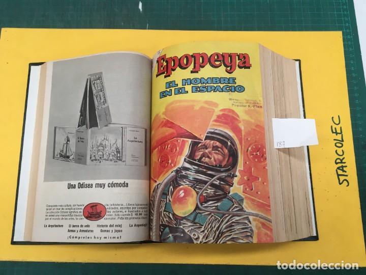 Tebeos: EPOPEYA NOVARO. 1 TOMO DE 27 NUMEROS (VER DESCRIPCION) EDITORIAL NOVARO AÑO 1960-1973 - Foto 6 - 287247558