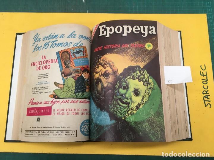 Tebeos: EPOPEYA NOVARO. 1 TOMO DE 27 NUMEROS (VER DESCRIPCION) EDITORIAL NOVARO AÑO 1960-1973 - Foto 7 - 287247558