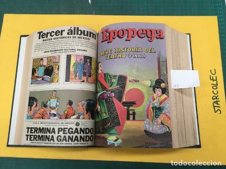 Tebeos: EPOPEYA NOVARO. 1 TOMO DE 27 NUMEROS (VER DESCRIPCION) EDITORIAL NOVARO AÑO 1960-1973 - Foto 8 - 287247558