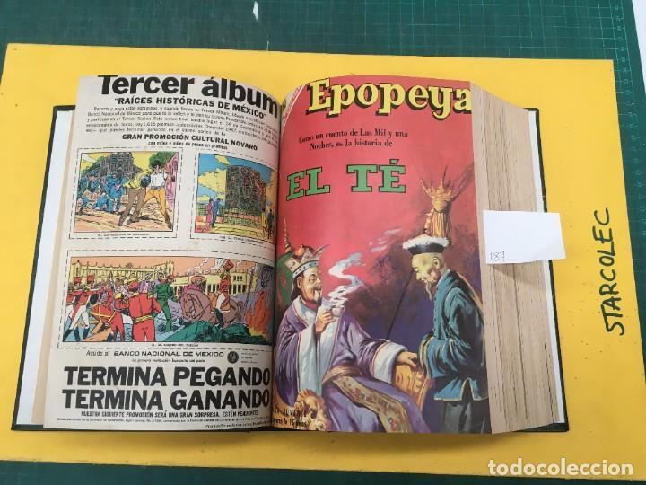 Tebeos: EPOPEYA NOVARO. 1 TOMO DE 27 NUMEROS (VER DESCRIPCION) EDITORIAL NOVARO AÑO 1960-1973 - Foto 9 - 287247558