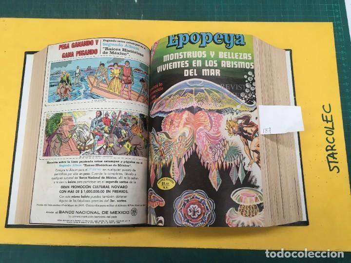 Tebeos: EPOPEYA NOVARO. 1 TOMO DE 27 NUMEROS (VER DESCRIPCION) EDITORIAL NOVARO AÑO 1960-1973 - Foto 10 - 287247558