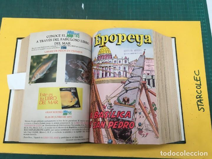 Tebeos: EPOPEYA NOVARO. 1 TOMO DE 27 NUMEROS (VER DESCRIPCION) EDITORIAL NOVARO AÑO 1960-1973 - Foto 11 - 287247558