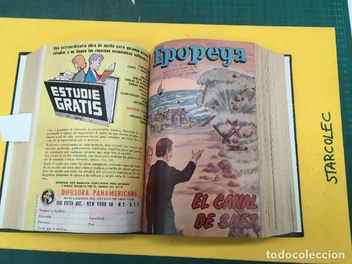 Tebeos: EPOPEYA NOVARO. 1 TOMO DE 27 NUMEROS (VER DESCRIPCION) EDITORIAL NOVARO AÑO 1960-1973 - Foto 13 - 287247558