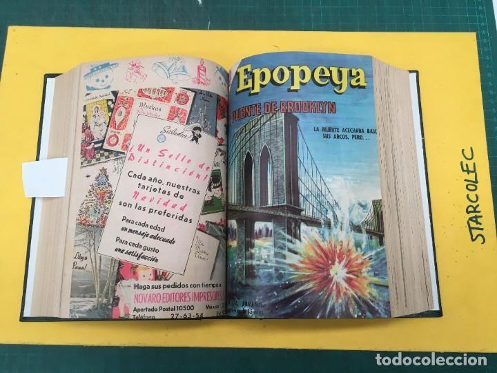 Tebeos: EPOPEYA NOVARO. 1 TOMO DE 27 NUMEROS (VER DESCRIPCION) EDITORIAL NOVARO AÑO 1960-1973 - Foto 14 - 287247558