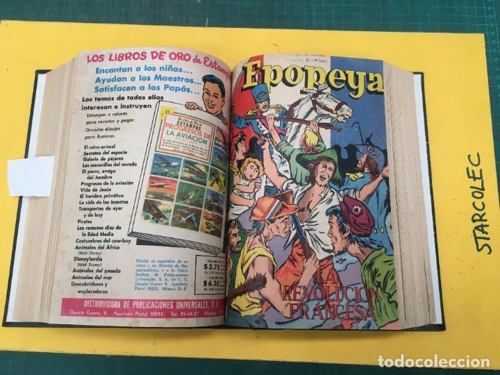 Tebeos: EPOPEYA NOVARO. 1 TOMO DE 27 NUMEROS (VER DESCRIPCION) EDITORIAL NOVARO AÑO 1960-1973 - Foto 17 - 287247558