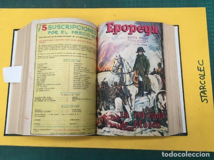 Tebeos: EPOPEYA NOVARO. 1 TOMO DE 27 NUMEROS (VER DESCRIPCION) EDITORIAL NOVARO AÑO 1960-1973 - Foto 19 - 287247558