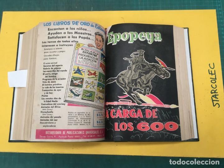 Tebeos: EPOPEYA NOVARO. 1 TOMO DE 27 NUMEROS (VER DESCRIPCION) EDITORIAL NOVARO AÑO 1960-1973 - Foto 20 - 287247558
