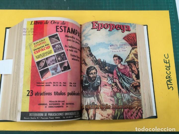 Tebeos: EPOPEYA NOVARO. 1 TOMO DE 27 NUMEROS (VER DESCRIPCION) EDITORIAL NOVARO AÑO 1960-1973 - Foto 21 - 287247558