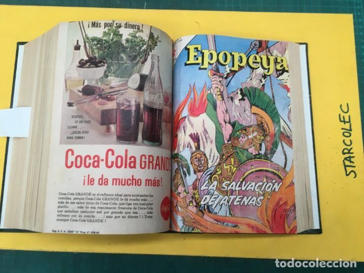 Tebeos: EPOPEYA NOVARO. 1 TOMO DE 27 NUMEROS (VER DESCRIPCION) EDITORIAL NOVARO AÑO 1960-1973 - Foto 23 - 287247558