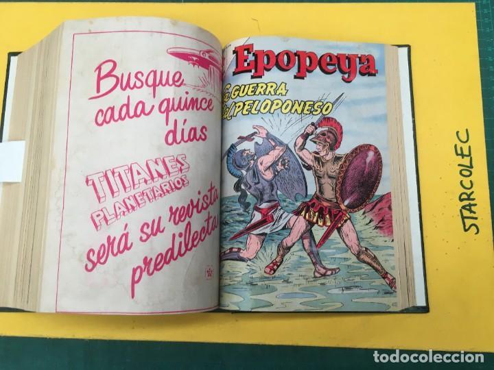 Tebeos: EPOPEYA NOVARO. 1 TOMO DE 27 NUMEROS (VER DESCRIPCION) EDITORIAL NOVARO AÑO 1960-1973 - Foto 24 - 287247558