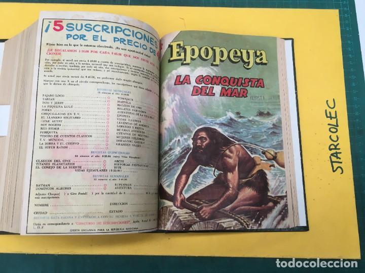 Tebeos: EPOPEYA NOVARO. 1 TOMO DE 27 NUMEROS (VER DESCRIPCION) EDITORIAL NOVARO AÑO 1960-1973 - Foto 25 - 287247558