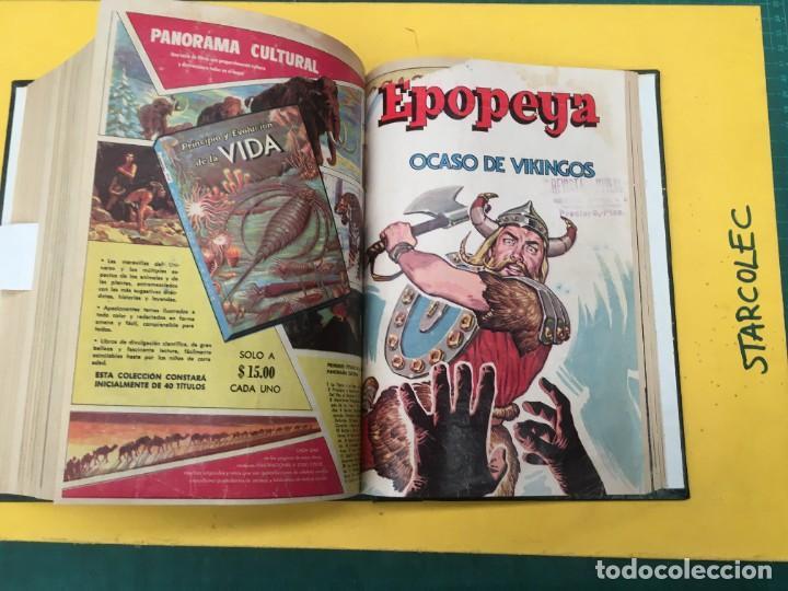Tebeos: EPOPEYA NOVARO. 1 TOMO DE 27 NUMEROS (VER DESCRIPCION) EDITORIAL NOVARO AÑO 1960-1973 - Foto 26 - 287247558