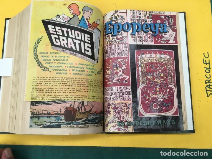 Tebeos: EPOPEYA NOVARO. 1 TOMO DE 27 NUMEROS (VER DESCRIPCION) EDITORIAL NOVARO AÑO 1960-1973 - Foto 27 - 287247558