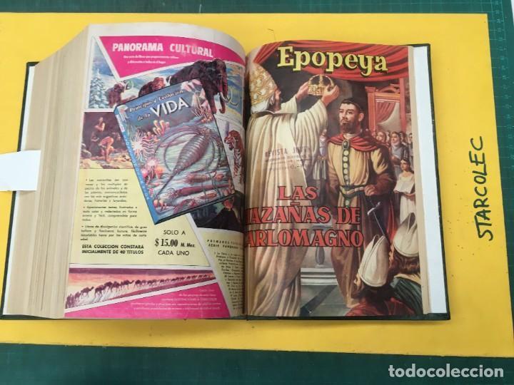 Tebeos: EPOPEYA NOVARO. 1 TOMO DE 27 NUMEROS (VER DESCRIPCION) EDITORIAL NOVARO AÑO 1960-1973 - Foto 28 - 287247558