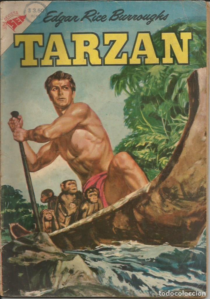 TARZÁN NOVARO NÚMERO 50 AÑO 1956 LEER DESCRICIÓN (Tebeos y Comics - Novaro - Tarzán)