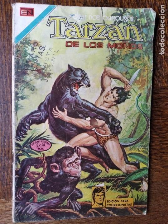 TARZAN DE LOS MONOS Nº 392 - NOVARO - (Tebeos y Comics - Novaro - Tarzán)