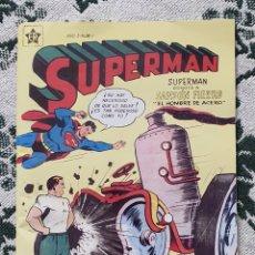 Tebeos: SUPERMAN, NÚMERO 1, AÑO 1, REIMPRESIÓN, (EDICIONES RECREATIVAS/NOVARO). Lote 287606603