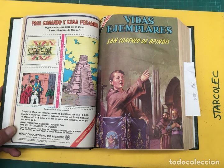 Tebeos: VIDAS EJEMPLARES NOVARO. 1 TOMO DE 19 NUMEROS (VER DESCRIPCION) EDITORIAL NOVARO AÑO 1965-1971 - Foto 4 - 287656258