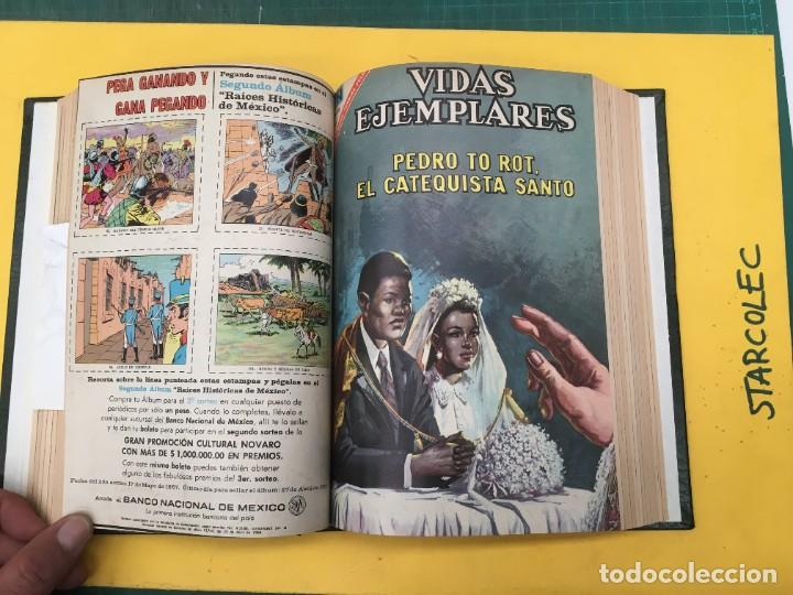Tebeos: VIDAS EJEMPLARES NOVARO. 1 TOMO DE 19 NUMEROS (VER DESCRIPCION) EDITORIAL NOVARO AÑO 1965-1971 - Foto 9 - 287656258