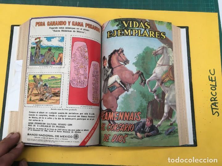 Tebeos: VIDAS EJEMPLARES NOVARO. 1 TOMO DE 19 NUMEROS (VER DESCRIPCION) EDITORIAL NOVARO AÑO 1965-1971 - Foto 13 - 287656258