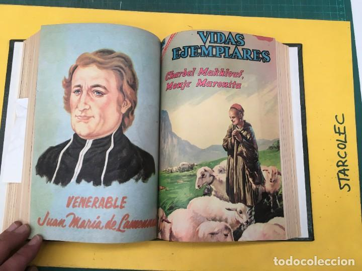 Tebeos: VIDAS EJEMPLARES NOVARO. 1 TOMO DE 19 NUMEROS (VER DESCRIPCION) EDITORIAL NOVARO AÑO 1965-1971 - Foto 14 - 287656258
