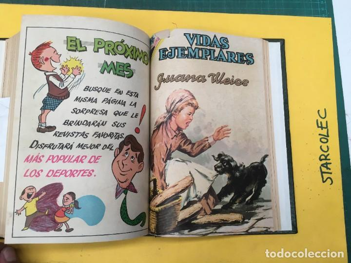 Tebeos: VIDAS EJEMPLARES NOVARO. 1 TOMO DE 19 NUMEROS (VER DESCRIPCION) EDITORIAL NOVARO AÑO 1965-1971 - Foto 18 - 287656258