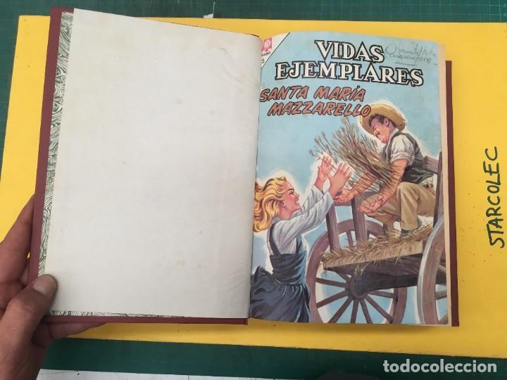 Tebeos: VIDAS EJEMPLARES Y VARIOS NOVARO. 1 TOMO DE 21 NUMEROS (VER DESCRIPCION) EDI. NOVARO AÑO 196-1966 - Foto 3 - 287673988